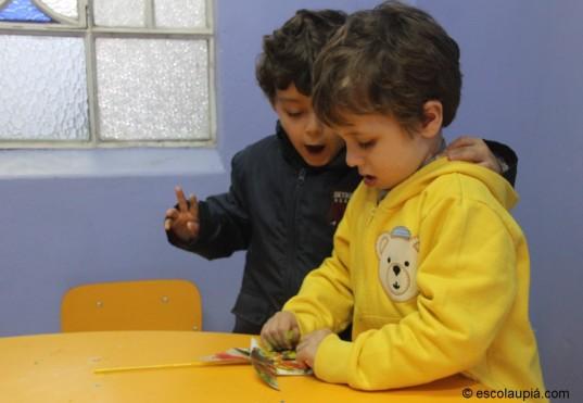 Confecção de um jogo de argolas para a festa junina