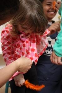 Oficina de Expressão Corporal - Método Maria Fux - Gabriella Ferreira - Escola Upiá. Foto: Nathália Gotardo