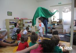 Teatro e Cultura na Escola Upiá