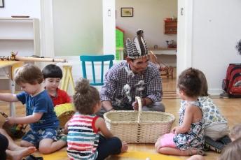 Cultura Kaingang na Escola Upiá